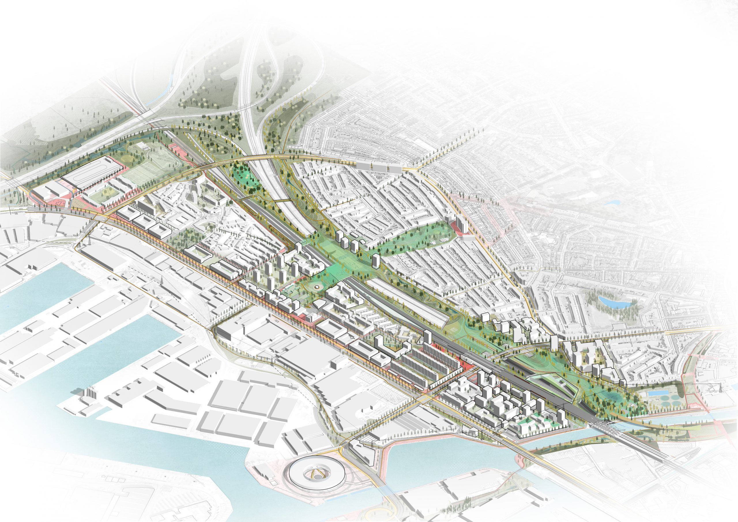 L'infrastructure comme levier spatial